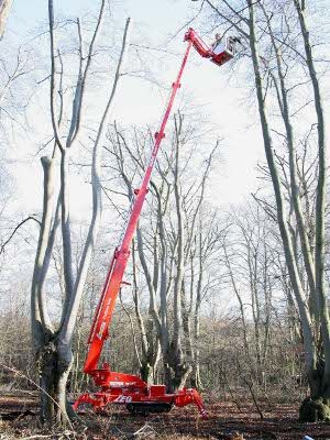 TEUPEN LEO 30T Tracked Spider Lift